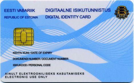 Henkilökortti Viro